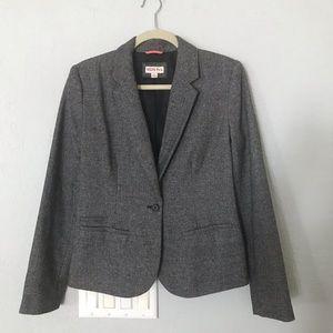 Merona sized 8 gray blazer